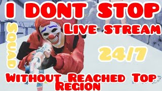 Download FREE FIRE | Without Reached Top Region I DONT STOP LIVE STREAM 24/7 Video