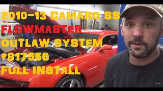 Download 2010 - 2013 Camaro SS Flowmaster Outlaw System 817556 Full Install Video