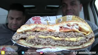 Download Eating Burger King Bacon King @hodgetwins Video