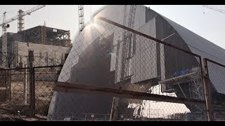 Download Chernobyl New Safe Confinement (NSC) 2015 - ″Арка″ shelter of Reactor 4 Video