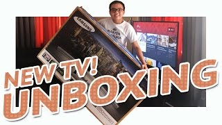 Download NEW 55-inch SAMSUNG 4K Curved Smart TV Unboxing Video