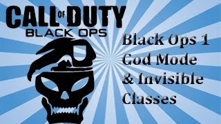 Download Black Ops 1 God Mode Invisible Classes and Unlock all No jailbreak Video