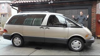 Download The Toyota Previa Is the Weirdest Minivan Ever Video