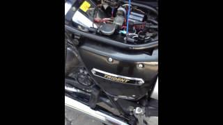 Download 1974 Triumph Trident T150V cold start Video