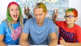 Download 3 COLOR OF HAIR DYE CHALLENGE!!! Video