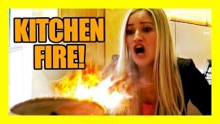 Download KITCHEN FIRE!!!!   iJustine Video
