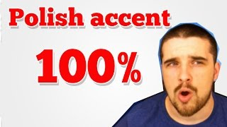 Download How to do a Polish accent 100% legit Video