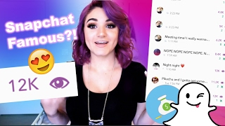 Download How To Get Famous on Snapchat (By a Snapchat Influencer) Video