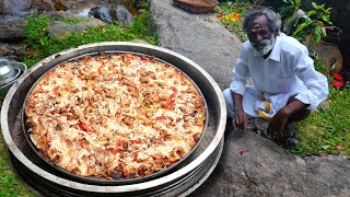 Download KING SIZE PIZZA 🍕 Prepared by my Daddy Arumugam / Village food factory Video