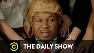 Download ″They Love Me″ Music Video - Black Trump (ft. Jordan Klepper): The Daily Show Video