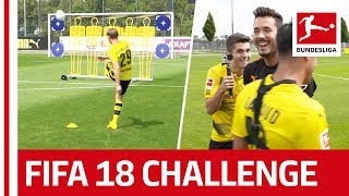 Download Dortmund Star Christian Pulisic Takes on The EA Sports FIFA 18 Bundesliga Free Kick Challenge Video