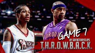 Download Allen Iverson vs Vince Carter Duel Highlights 2001 Playoffs ECSF G7 76ers vs Raptors - WIN or LOSE! Video