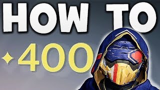 Download Destiny - HOW TO GET 400 LIGHT LEVEL EASY !! Video