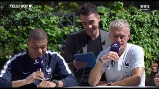 Download Le Oui/Non avec Kylian Mbappé et Didier Deschamps (Equipe de France) Video