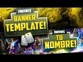 Download EL MEJOR BANNER TEMPLATE/EDITABLE DE FORTNITE! / Photoshop! - @ZalerYT Video