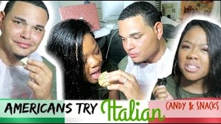 Download Americans Try Italian Snacks, Chocolate & Candy Video