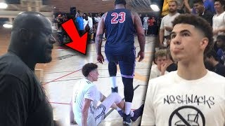 Download LaMelo Ball Disrespected in Front Of Shaq! Then Turns into a 6'8 Point God! Video