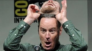 Download 'Breaking Bad' Actor Bryan Cranston's Brilliant Disguise at Comic Con Video