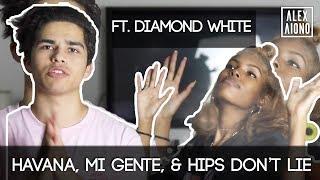 Download Havana, Mi Gente, & Hips Don't Lie Mashup | Alex Aiono Mashup ft. Diamond White Video