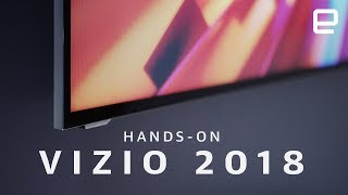 Download Vizio's 2018 TV Lineup Hands-on Video