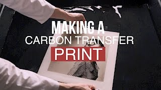 Download Making a Carbon Transfer Print Video