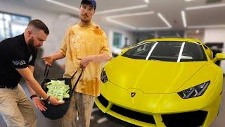 Download Homeless Man Buys A Lamborghini Video
