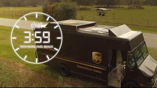 Download UPS delivers on truck-drone hybrid. Is it more than meets the eye? (The 3:59, Ep. 182) Video