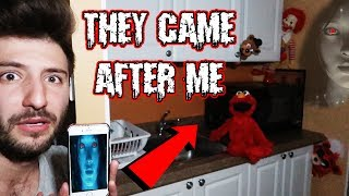Download (SHE SENT THEM AFTER ME) DONT LET SIRI TALK TO TOYS AT 3 AM | ELMO FREDDY FAZBEAR & RONALD MOVED! Video