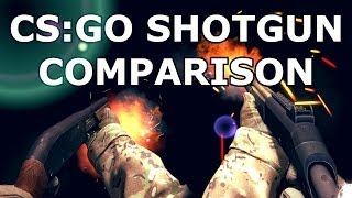 Download CS:GO - SHOTGUN COMPARISON Video