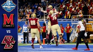 Download Boston College vs. Maryland Quick Lane Bowl Highlights (2016) Video