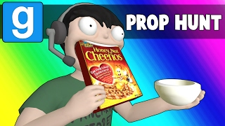 Download Gmod Prop Hunt Funny Moments - The Breakfast Bunker (Garry's Mod) Video