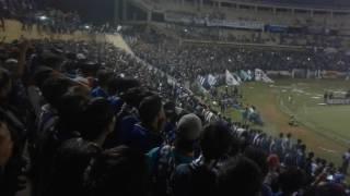 Download Panser Biru nyanyi saling saut sautan (Uji Coba PSIS vs Persijap 3 Juni 2017) di Jatidiri Semarang Video