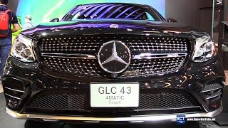 Download 2017 Mercedes-AMG GLC43 4Matic Coupe - Exterior, Interior Walkaround - 2017 Montreal Auto Show Video