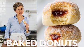 Download How To Make Baked Donuts Recipe Filled With Jam Video