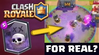 Download FOR REAL!? NEW LEGENDARY CARD '' GRAVEYARD '' :: Clash Royale :: SAVING SUPER MAGICAL CHEST! Video