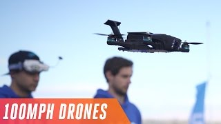 Download Racing drones at 100 MPH in the Las Vegas Drone Rodeo Video