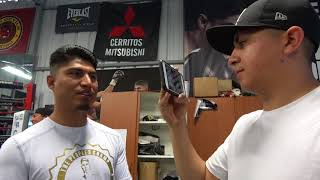 Download Mikey Garcia Reunites With (Elmo) Kid From Sparring Vid EsNews Boxing Video