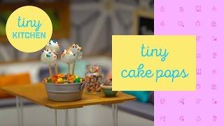 Download Tiny Cake Pops | Tiny Kitchen Video