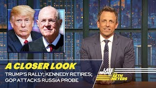 Download Trump's Rally; Kennedy Retires; GOP Attacks Russia Probe: A Closer Look Video
