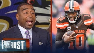 Download Cris Carter on why RG3 doesn't fit with Ravens, Gives Jerry Jones reality check | FIRST THINGS FIRST Video