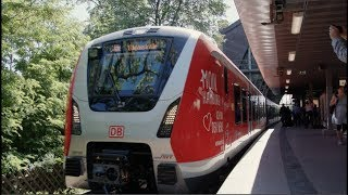 Download Hamburg's new S-Bahn train, the BR490, enters service testing Video