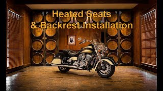 Download Installation of the Indian Heated Seats & Backrest P/N 2880733, 2880734, 2879542 and 2879543. Video