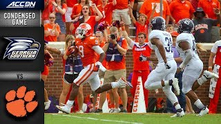 Download Georgia Southern vs. Clemson Condensed Game   2018 ACC Football Video
