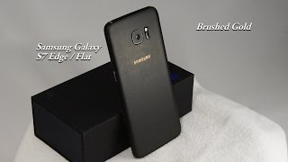 Download Samsung Galaxy S7 Edge / Flat : Matte Black Kit Many Colors Video