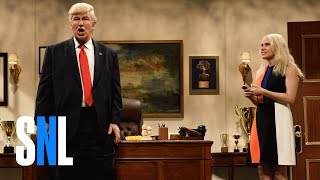 Download Donald Trump Prepares Cold Open - SNL Video