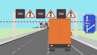 Download Animatie hoogtedetectie tunnels Video