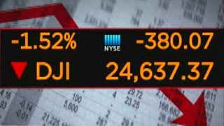 Download Markets down following big losses in technology companies Video