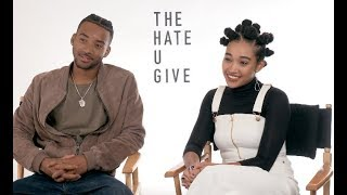 Download THE HATE U GIVE interviews - Stenberg, Apa, Smith, Carpenter, Hornsby, Mackie, Hall Video