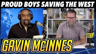 Download Gavin McInnes on White History Month; Proud Boys Fight for Western Men Video