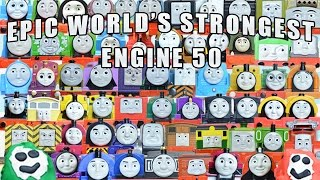 Download EPIC WORLD'S STRONGEST ENGINE 50: 64 Thomas and Friends Engines with PLAY DOH SURPRISES Video